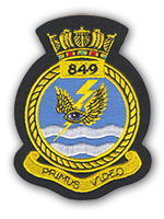 849 Naval Air Squadron Badge