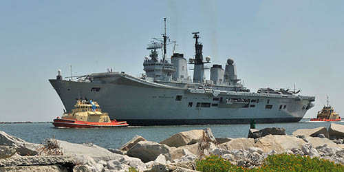 HMS Ark Royal 2010