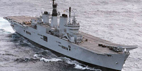 HMS Ark Royal 2001
