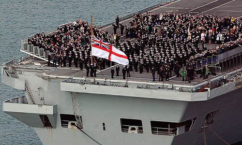 HMS Ark Royal's decommissioning